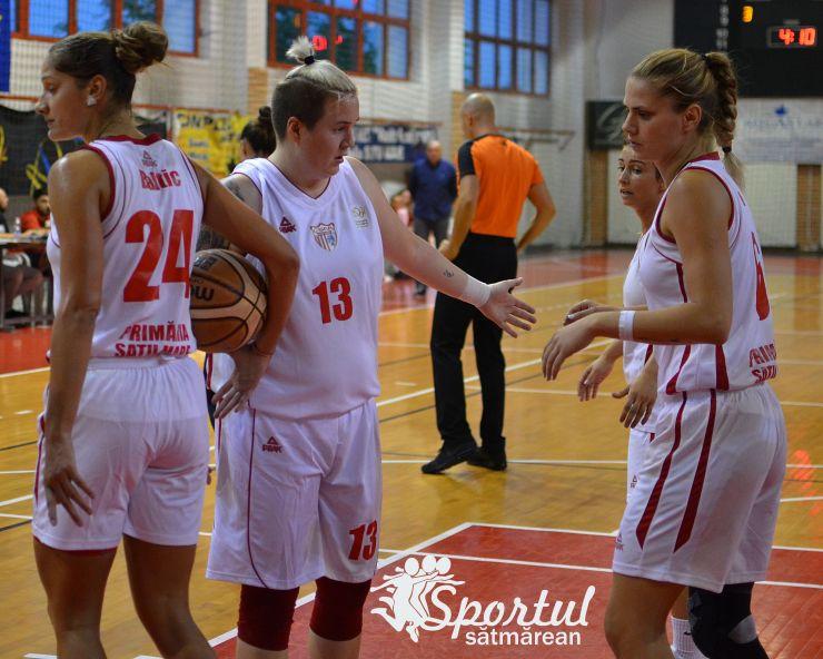 Baschet | CSM Satu Mare, la a treia victorie consecutivă