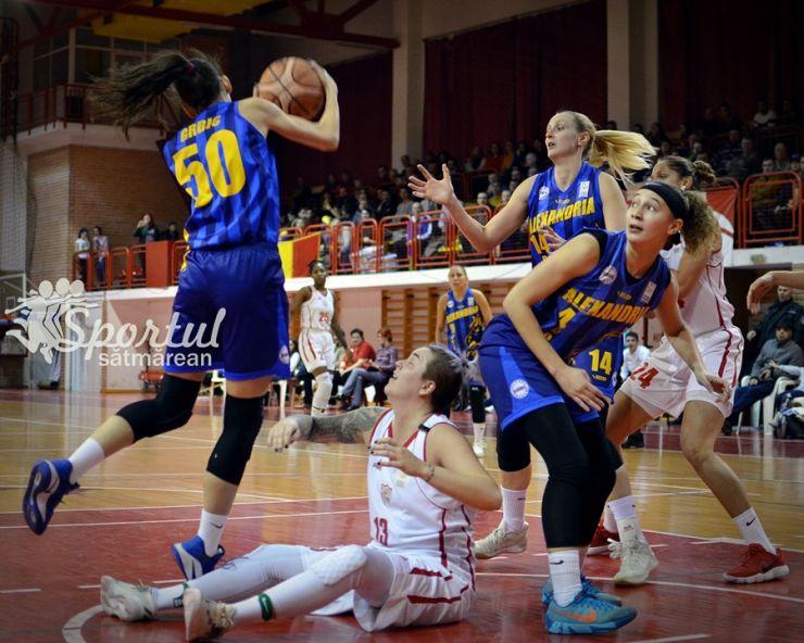 Baschet | CSM Satu Mare încheie sezonul regulat cu o victorie în prelungiri