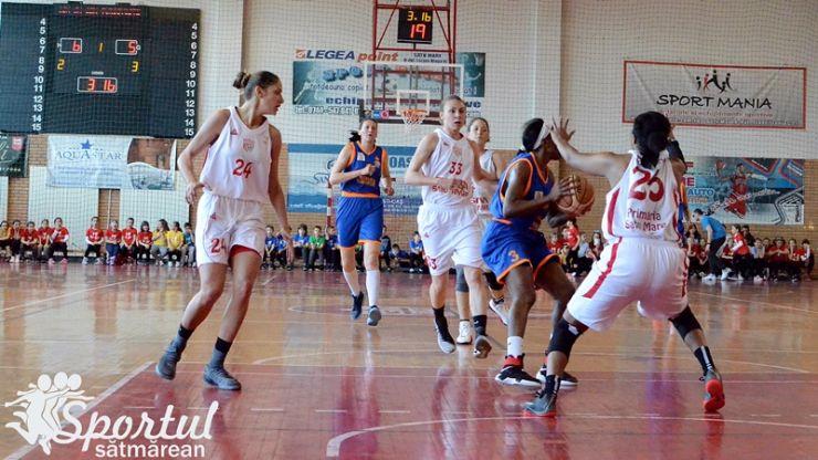 Baschet | CSM Satu Mare a pierdut meciul decisiv de la Târgoviște