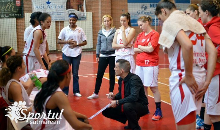 Baschet | CSM Satu Mare a încheiat sezonul cu o victorie