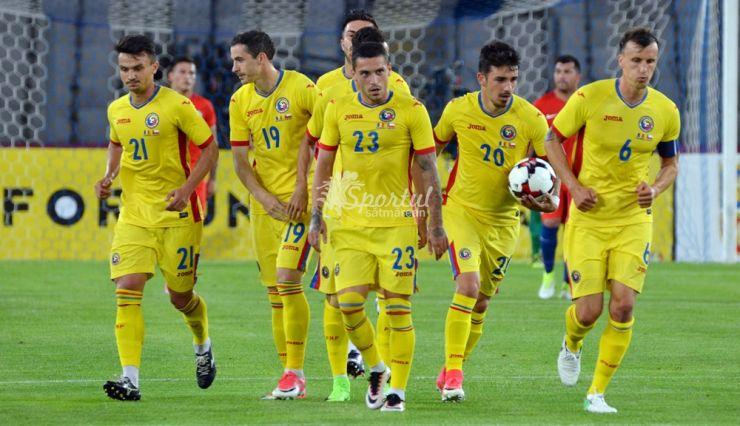 Echipa națională   România a urcat o poziție în clasamentul FIFA