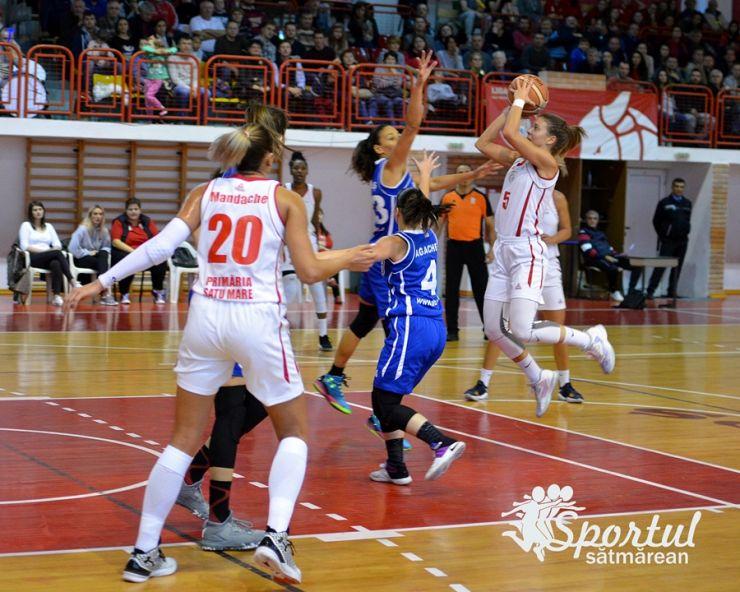 Baschet | CSM Satu Mare, prima victorie pe teren propriu din sezonul 2017/2018