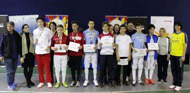 Szabó Szabolcs (CS Satu Mare) a câștigat medalia de argint la Campionatul Național de spadă speranțe