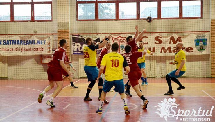 Handbal | CSM Satu Mare a pierdut duelul codașelor cu CSM Făgăraș
