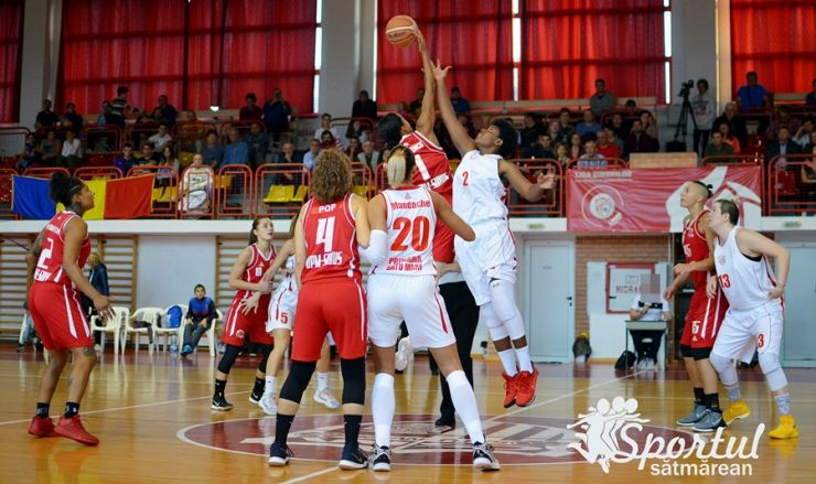 Baschet | CSM Satu Mare a obținut cea mai categorică victorie din acest sezon