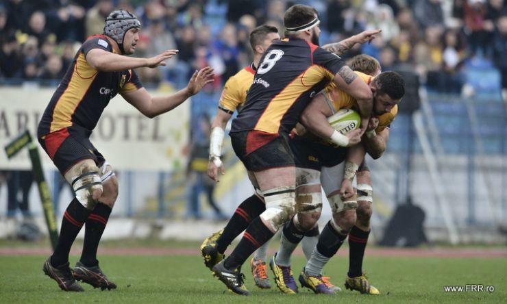 Rugby | Stejarii au pierdut cu Germania, scor 41-38, în primul meci al Rugby Europe Championship