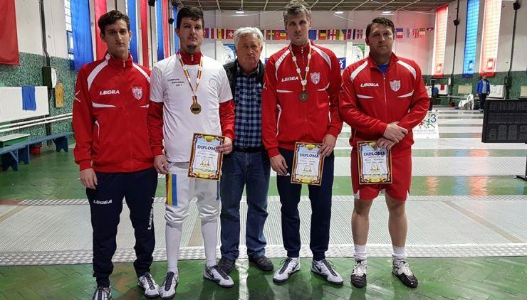Adrian Szilagyi a câștigat Campionatul Național de spadă de la Satu Mare