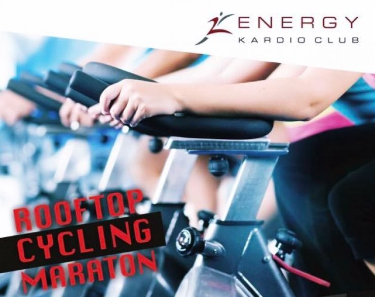 Eveniment | Rooftop Cycling Maraton, vineri, ora 17:00