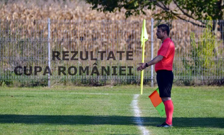 Rezultatele înregistrate astăzi în Cupa României - faza județeană
