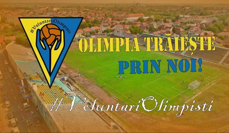 Planul Voluntarilor Olimpiști pentru continuarea activității fotbalistice sub sigla Olimpia