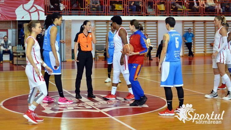 Baschet | O nouă victorie pentru baschetbalistele de la CSM Satu Mare