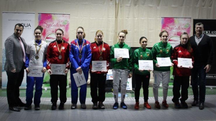 Ziua 3 | Rebeca Cândescu a câștigat Campionatul Național de floretă cadeți de la Satu Mare