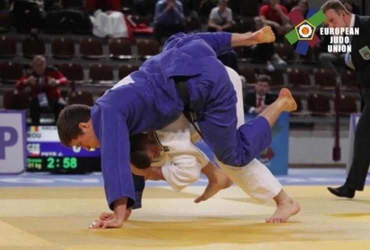Judo. Marian Halas, locul V la Cupa Europei de la Dubrovnik