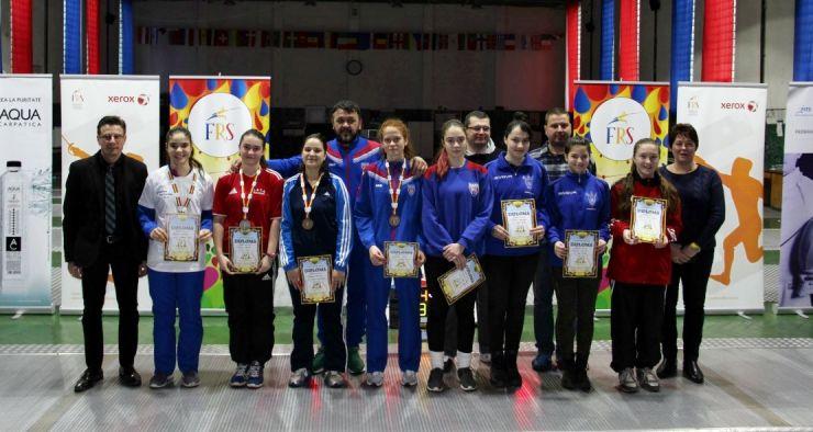 Rebeca Cândescu (CSA Steaua) a câștigat Campionatul Național de floretă cadeți în proba feminină la individual