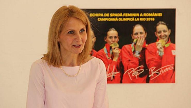 Laura Badea Cârlescu este noul președinte al Federației Române de Scrimă