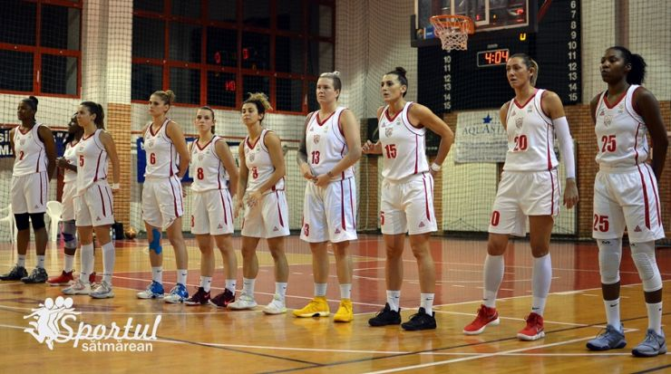 Baschet | CSM Satu Mare a suferit a treia înfrângere din acest sezon
