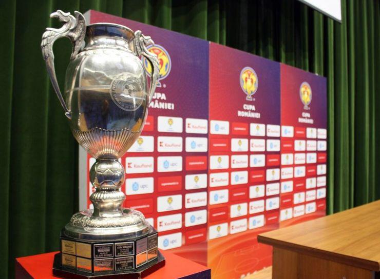 Au fost trase la sorți semifinalele Cupei României