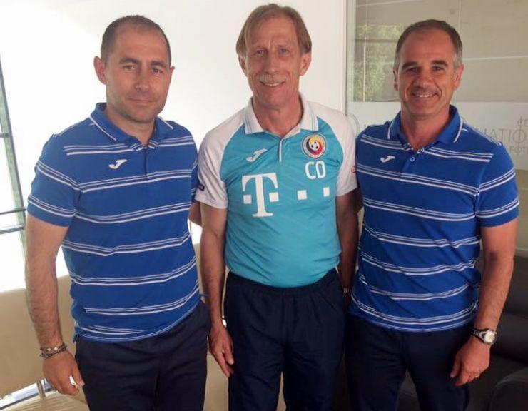 Licența UEFA PRO   Dacian Nastai și Florin Fabian, instruiți de Christoph Daum