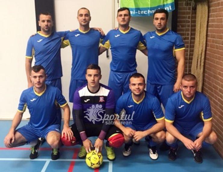 Jandarmii sătmăreni participă la World Police Indoor Soccer Tournament