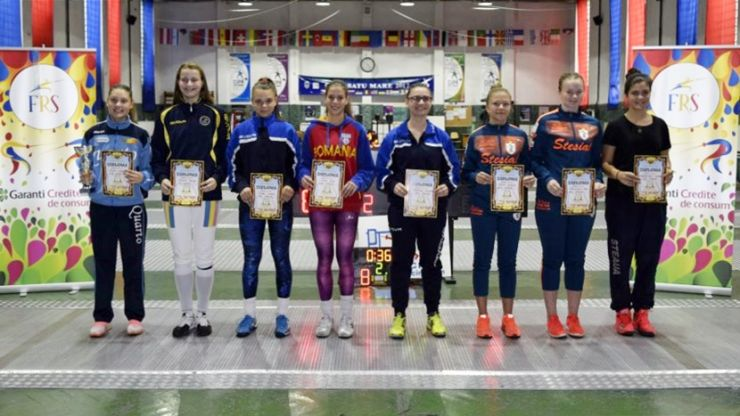 Mihaela Leonte (CSS Quarto) a câștigat Cupa Federației la spadă de la Satu Mare