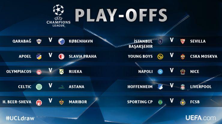 Viitorul și FCSB și-au aflat adversarii din play-off-ul Europa League, respectiv Champions League
