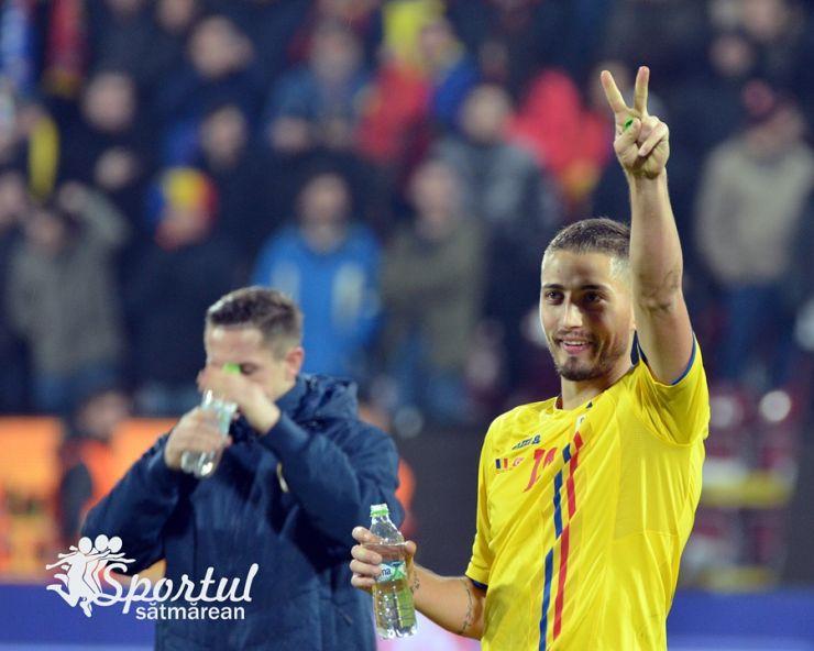 Echipa națională | România a învins Turcia cu 2-0, într-un meci amical