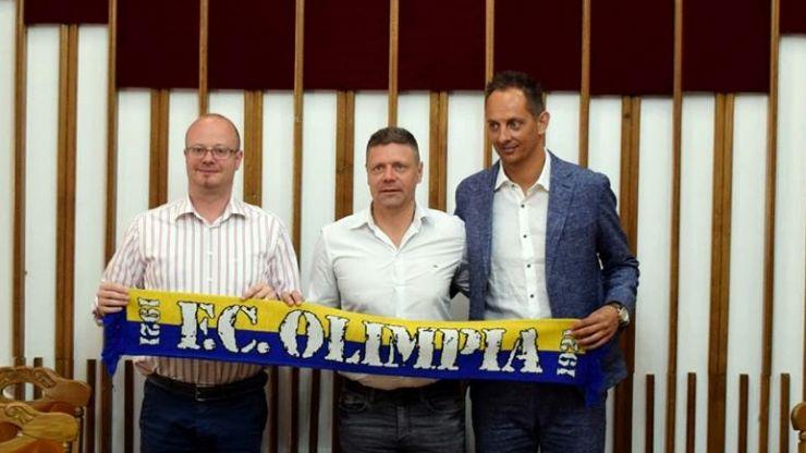 Tibor Selymes, noul antrenor al Olimpiei Satu Mare