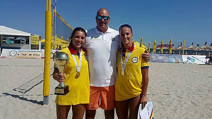 Volei pe plajă   Adriana Matei și Beata Vaida, campioane naționale