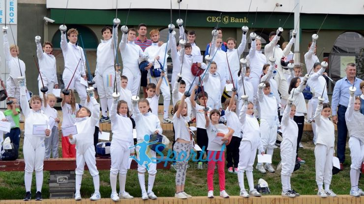 World Fencing Day, sărbătorită azi la Satu Mare