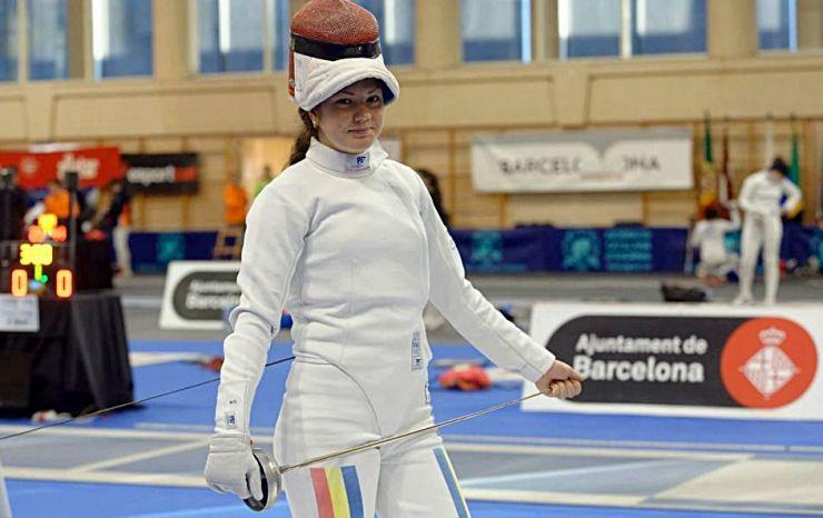 Spadă | Sătmăreanca Amalia Tătăran (CS Dinamo) a câștigat Campionatul Național de tineret de la Craiova