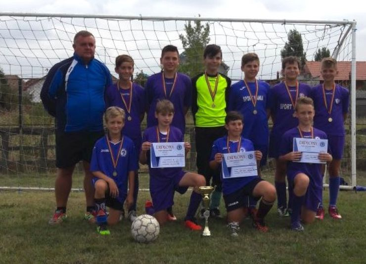Juniorul Satu Mare a câștigat un turneu destinat jucătorilor născuți în anul 2005