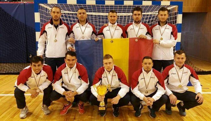 Argint pentru sătmărenii din echipa MAI la Campionatul Balcanic de Futsal al Poliţiştilor