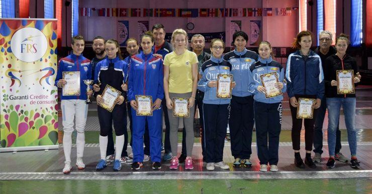 Cupa Federației la spadă s-a încheiat cu proba feminină pentru juniori
