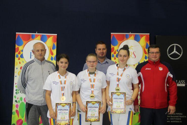 CS Satu Mare a câștigat Campionatul Național de floretă - speranțe
