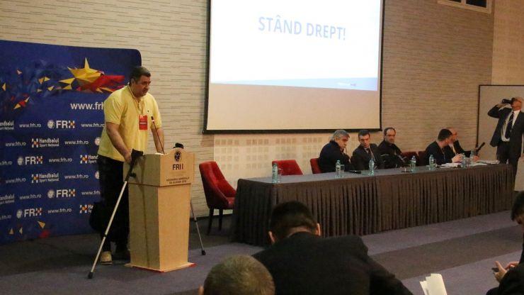 Alexandru Dedu a fost reales preşedinte al Federaţiei Române de Handbal