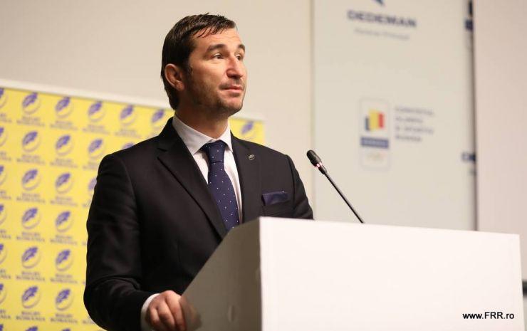Alin Petrache, ales președinte al Federației Române de Rugby