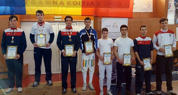 Aur, argint și bronz pentru sportivii de la CS Satu Mare la Campionatul Național de spadă cadeți