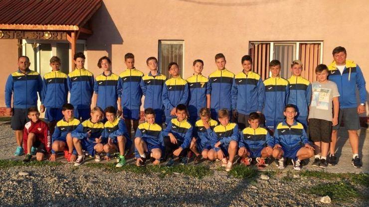 Juniorii C de la Olimpia Satu Mare sunt în cantonament la Ocna Șugatag