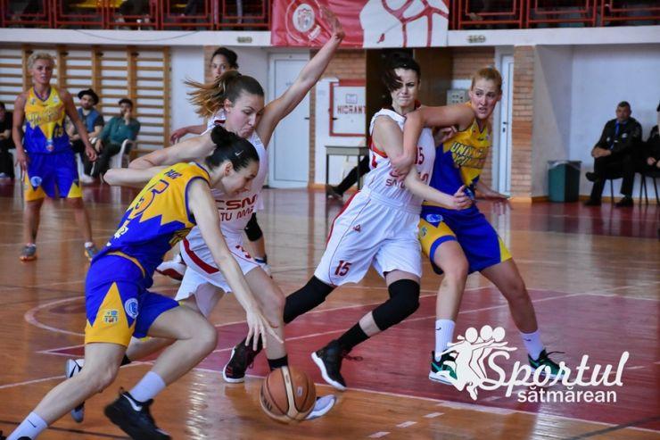 Baschet | CSM Satu Mare a pierdut la Arad. Meciul decisiv se joacă vineri, la Satu Mare