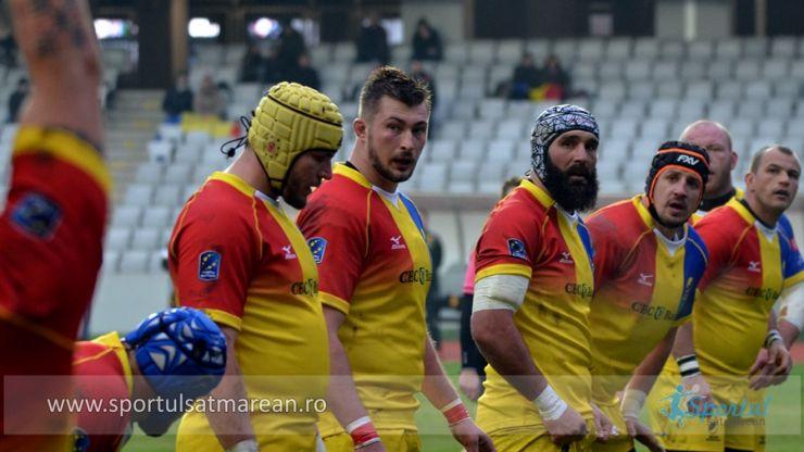 Rugby | Lotul României pentru meciul cu Rusia, din Rugby Europe Championship