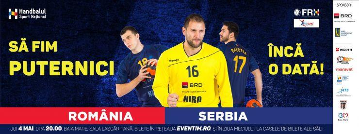 România vs Serbia, meci decisiv pentru calificarea la Campionatul European după 22 ani