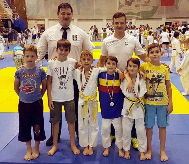 Judo. Sportivii de la CS Fuşle Security a obţinut trei medalii la Campionatul Naţional