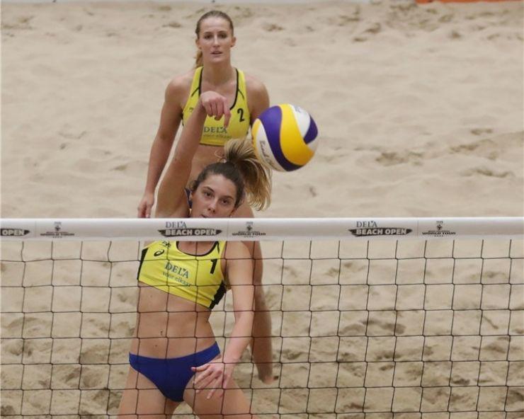 Volei pe plajă | Sătmărencele Adriana Matei și Beata Vaida, calificate în premieră la un turneu mondial de 4 stele FIVB World Tour