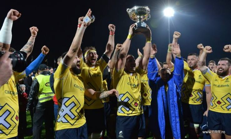 "Rugby | ""Stejarii"" au câștigat Cupa Pershing, după victoria cu SUA"