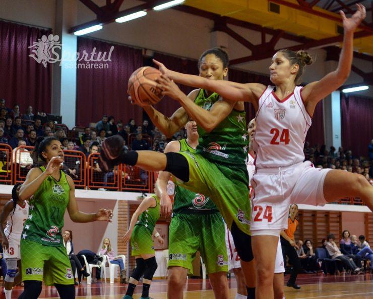 Baschet feminin | CSM Satu Mare a câștigat la Brașov și s-a calificat în finala Ligii Naționale
