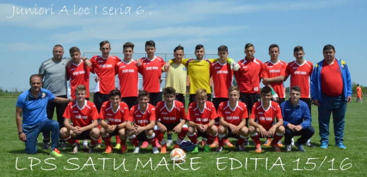 Juniori: LPS Satu Mare va juca în Liga Elitelor Under 19