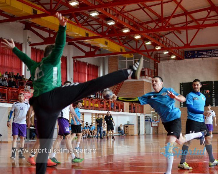 Handbal masculin | Etapa 14 | CS ADEP Satu Mare 24 – 34 CSU Politehnica Timișoara