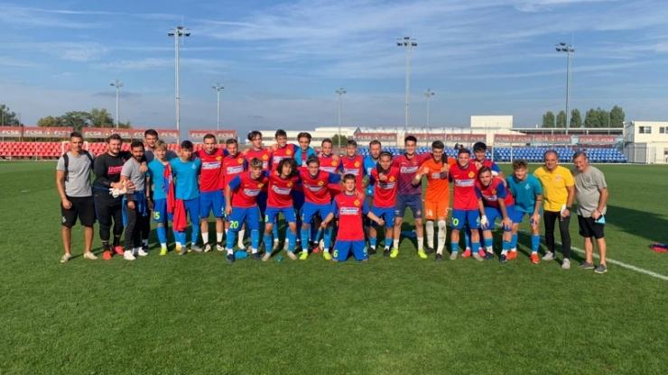 Juniori U17 | Echipa pregătită de Dacian Nastai a învins Dinamo cu 8-2