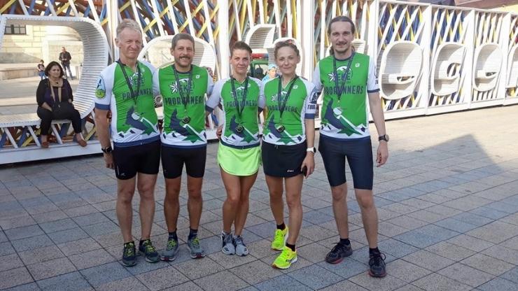 Echipa EKE ProRunners, locul 2 la Supermaratonul OrganicaFX Running Oradea - Debrecen