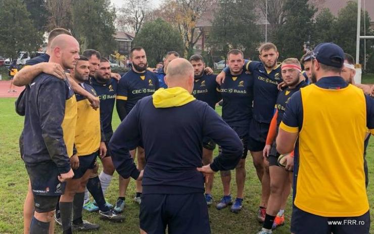 Rugby | Meci de pregătire pentru România în cantonamentul de la Snagov